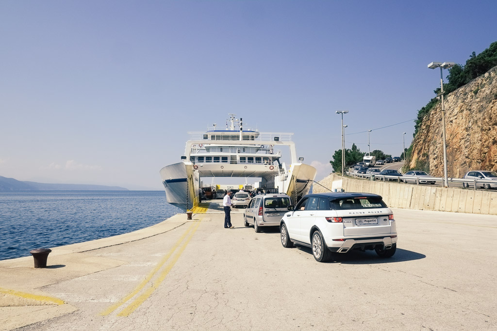 Krk croatia ferry