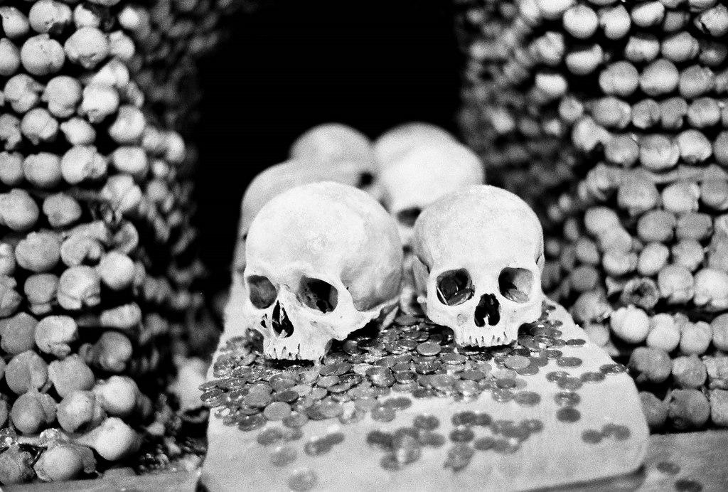 """Frantisek Rint, """"bone church"""""""