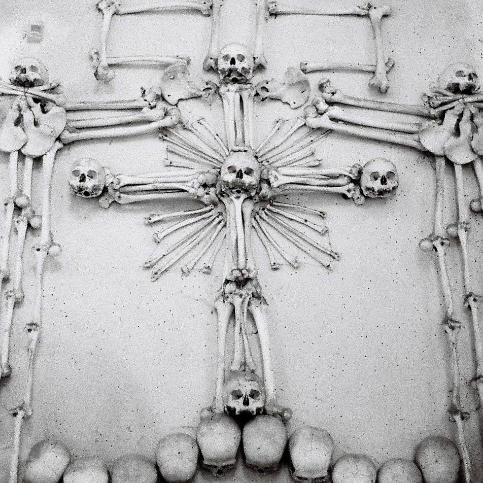 Kutna Hora Sedlec Ossuary - detail