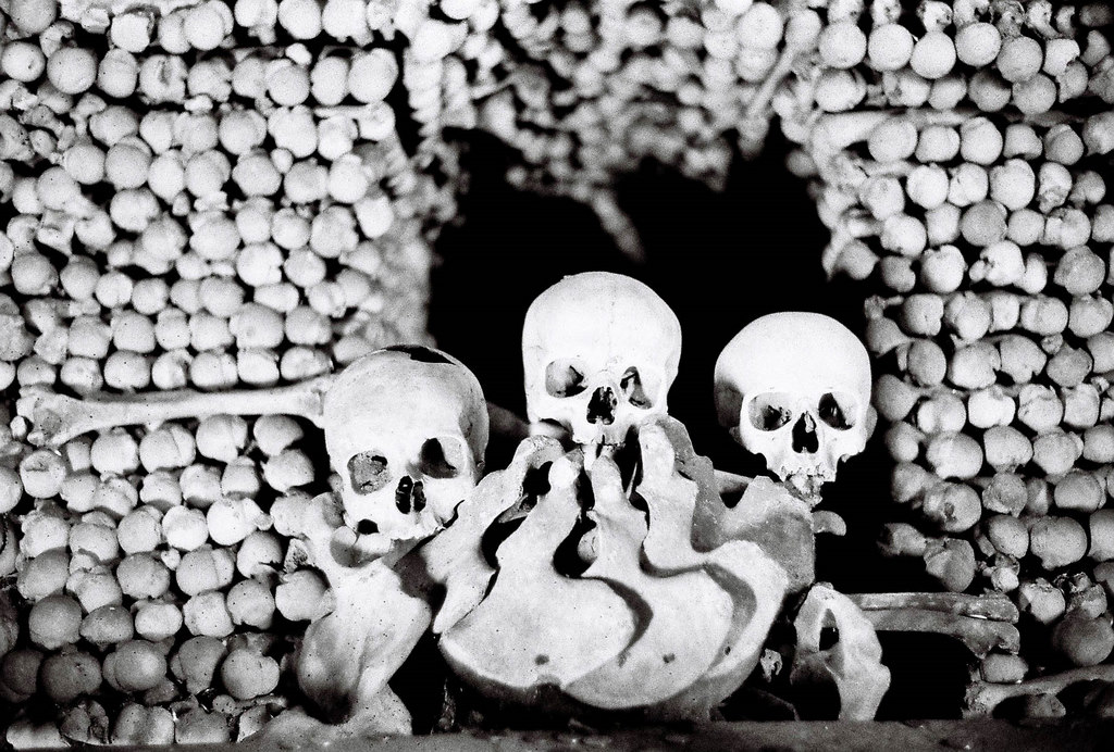 "Sedlec Ossuary ""bone church"""