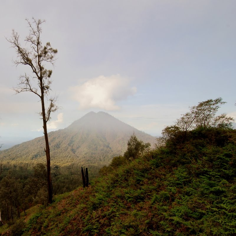 ijen view indonesia