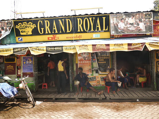 myanmar burma cafe coffee tea restaurant yangon rangoon