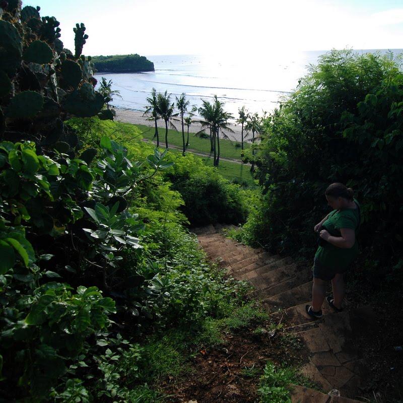 phillipa at bali balangan beach