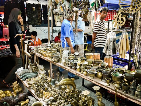 unesco georgetown penang market stall