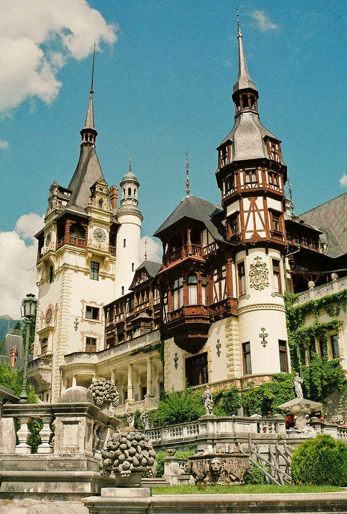 Peles Castle, Carpathian Mountains, Romania