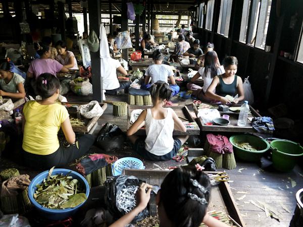 Sweatshop, Myanmar?