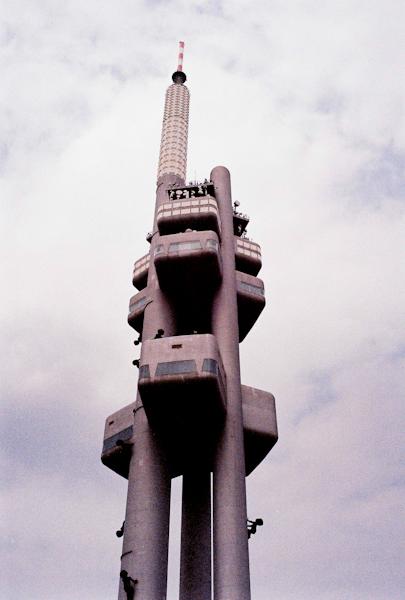 zizkov tv tower prague