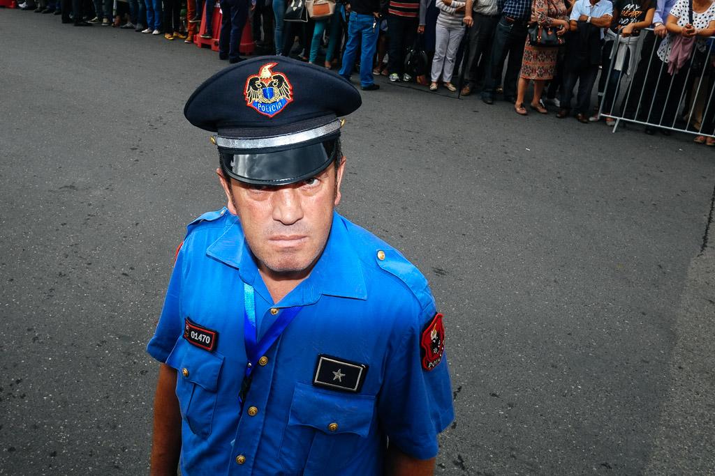 albania police