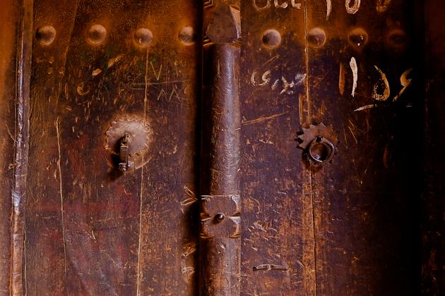 Abyaneh Iran door knockers