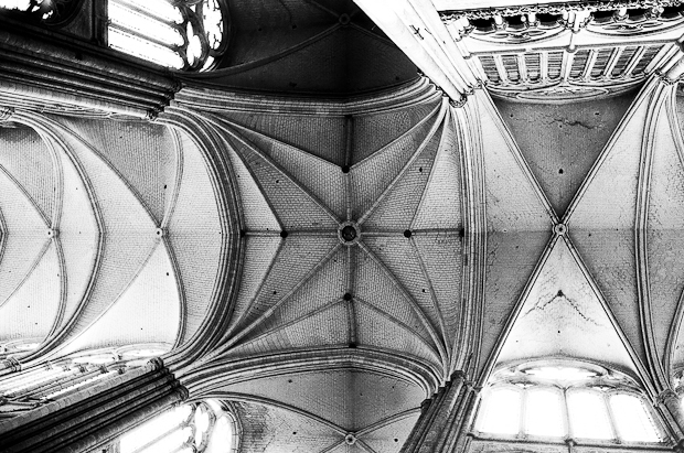 Amiens Cathedral Interior Detail