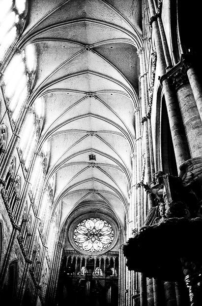 Amiens Cathedral Stained Glass