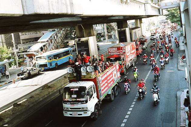 Bangkok Thailand - Red Shirt Protest