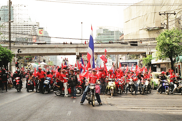 Bangkok Red Shirts