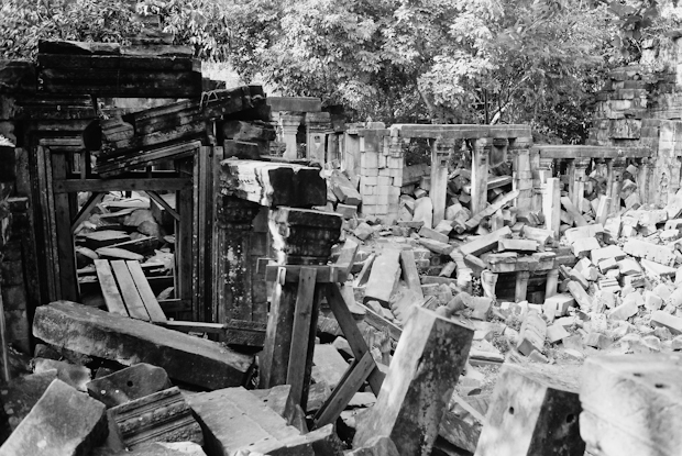 The ruins of Beng Melea