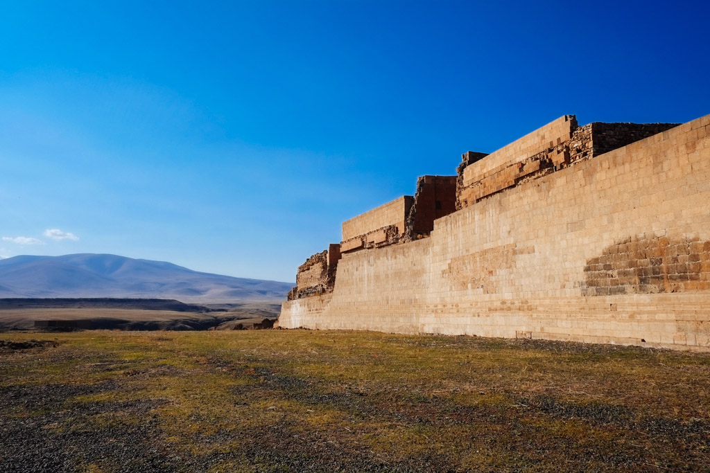 restored city walls ani