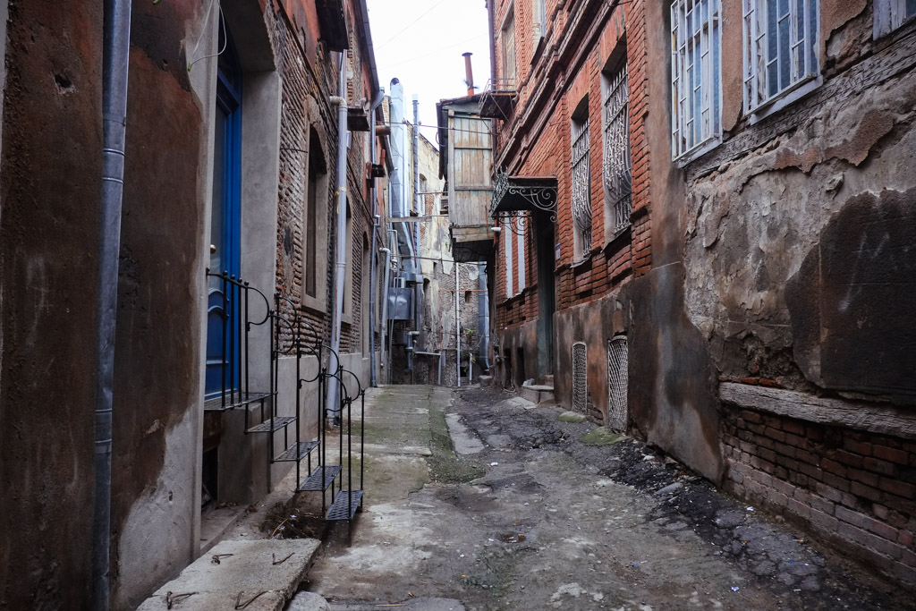 Streets of Old Tbilisi.