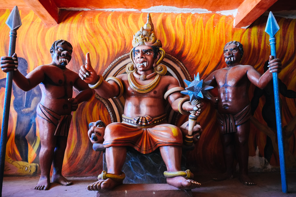 the crime of buddhist hell