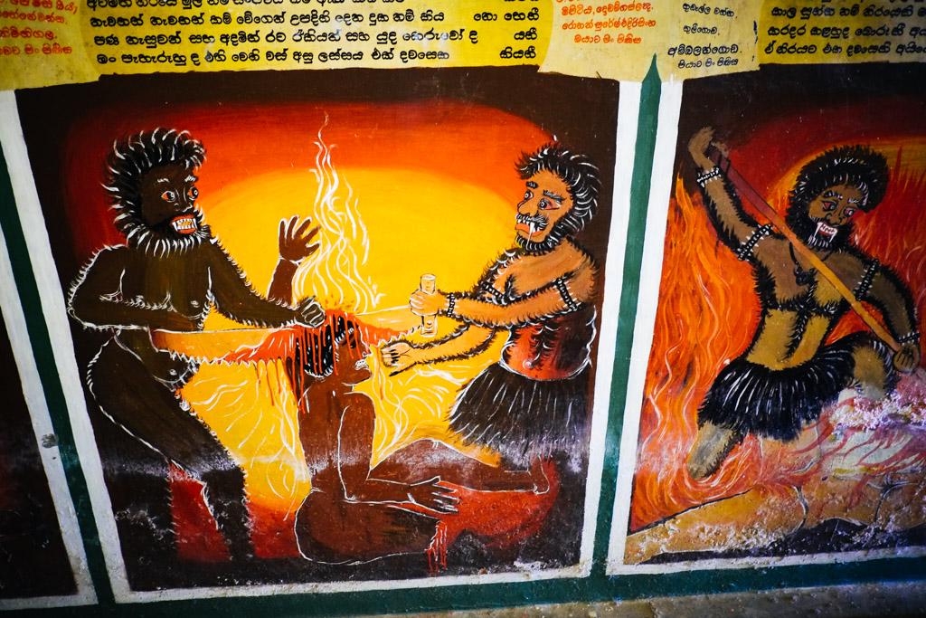 Wewurukannala Vihara Temple AKA BUDDHIST HELL