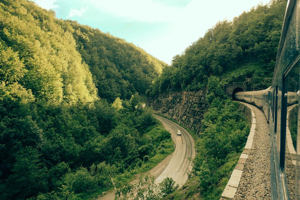 tito's train Belgrade to Podgorica