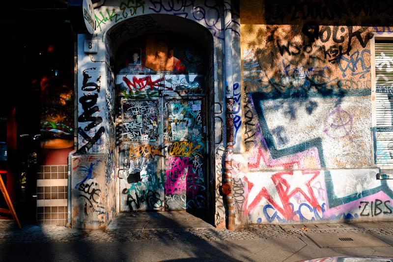 Friedrichshain - Berlin street art on private residence