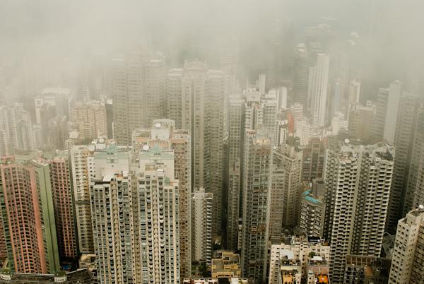 Victoria Peak Hong Kong Skyscrapers