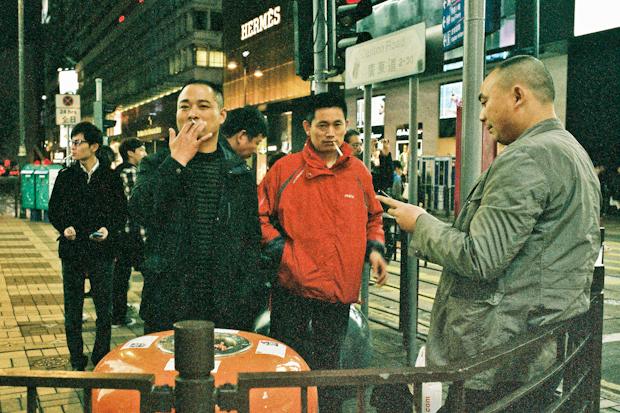 Tsim Sha Tsui Street Photography, again on Canton Road