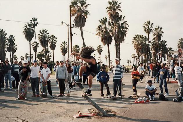 Jef Hartsel - Wally, Venice Beach 1988.