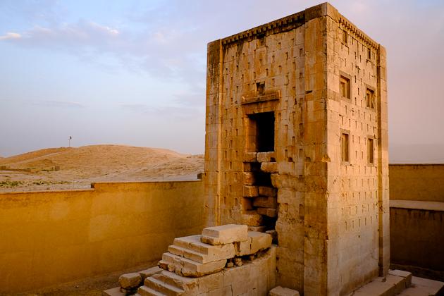 Kaba-ye Zartosht, near Shiraz, Iran