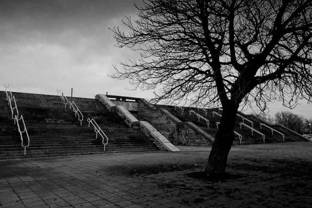 Linnahall Tallinn - entrance steps