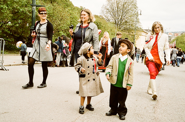 Norway National Day - cute in kids Oslo