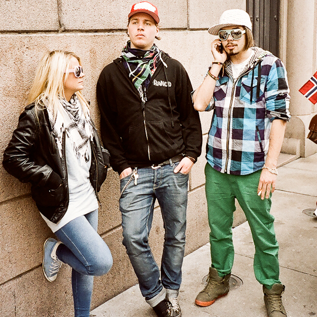 Norway Hipsters on National Day Oslo