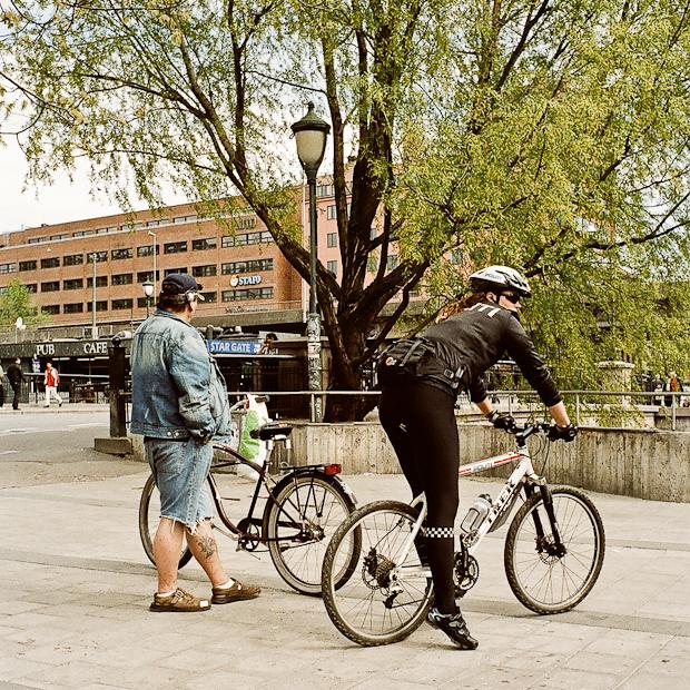 Norway Police Women in Hot Pants