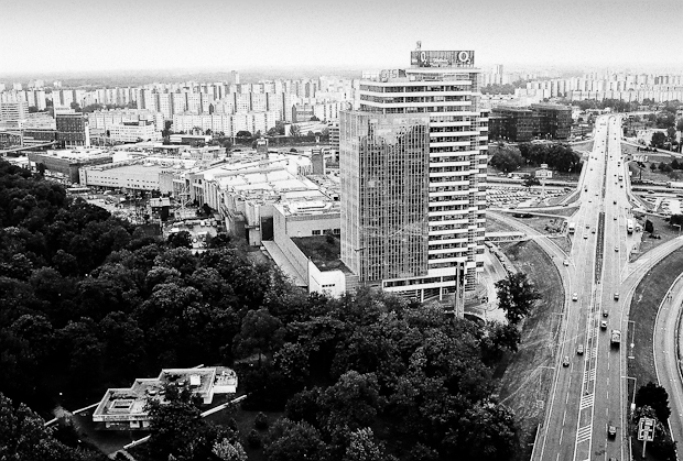 Petržalka view, Bratislava