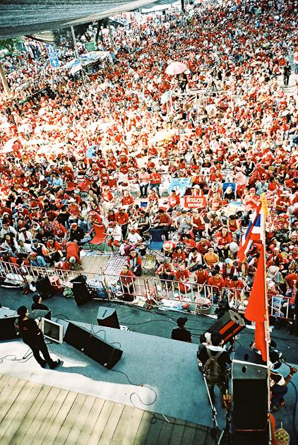Red Shirt Stage Bangkok