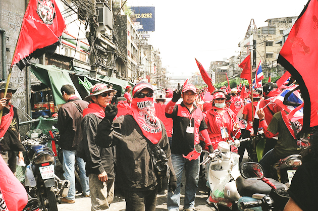 Red Shirt Protesters, Thailand