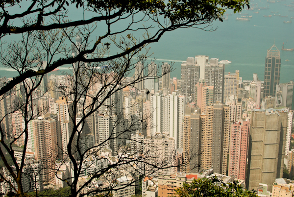 The Peak Hong Kong - Victoria Peak - View of Skycrapers
