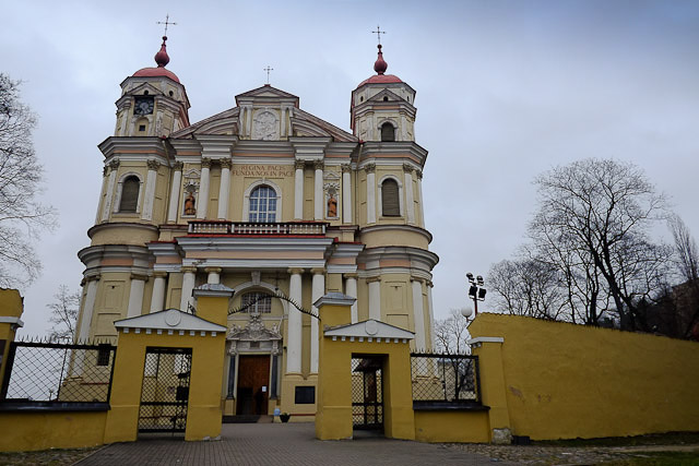 Exterior - St Peter and Paul's Church - Vilnius