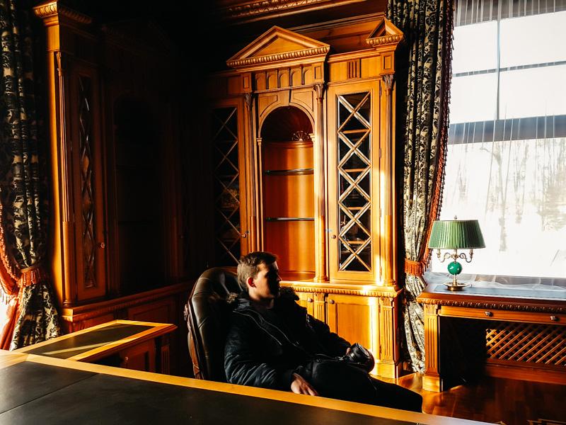 Tour Mezhyhiria president mansion kiev