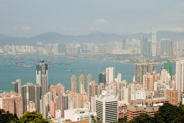 Victoria Peak Hong Kong - Kowloon View