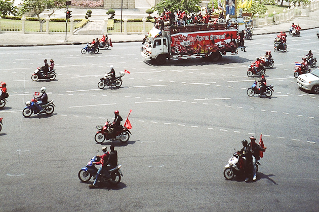 Victory Monument Protest, Bangkok