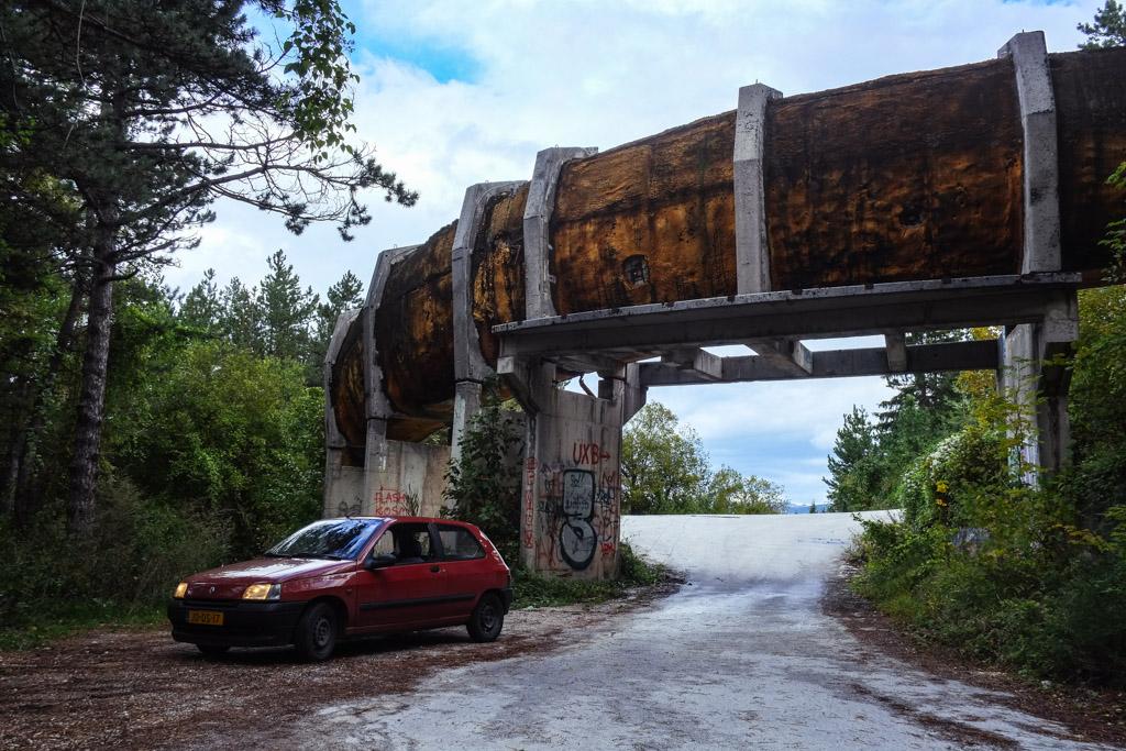 road trip bobsled sarajevo