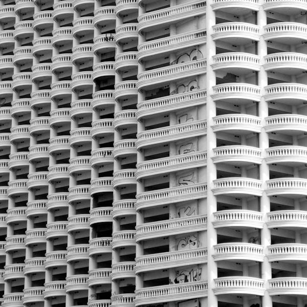 abandoned building bangkok