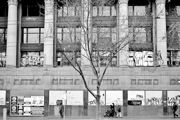Elizabeth Street Abandoned Building, Melbourne