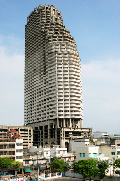 Abandoned Buildings - Ghost Towers of Bangkok - Photo Friday