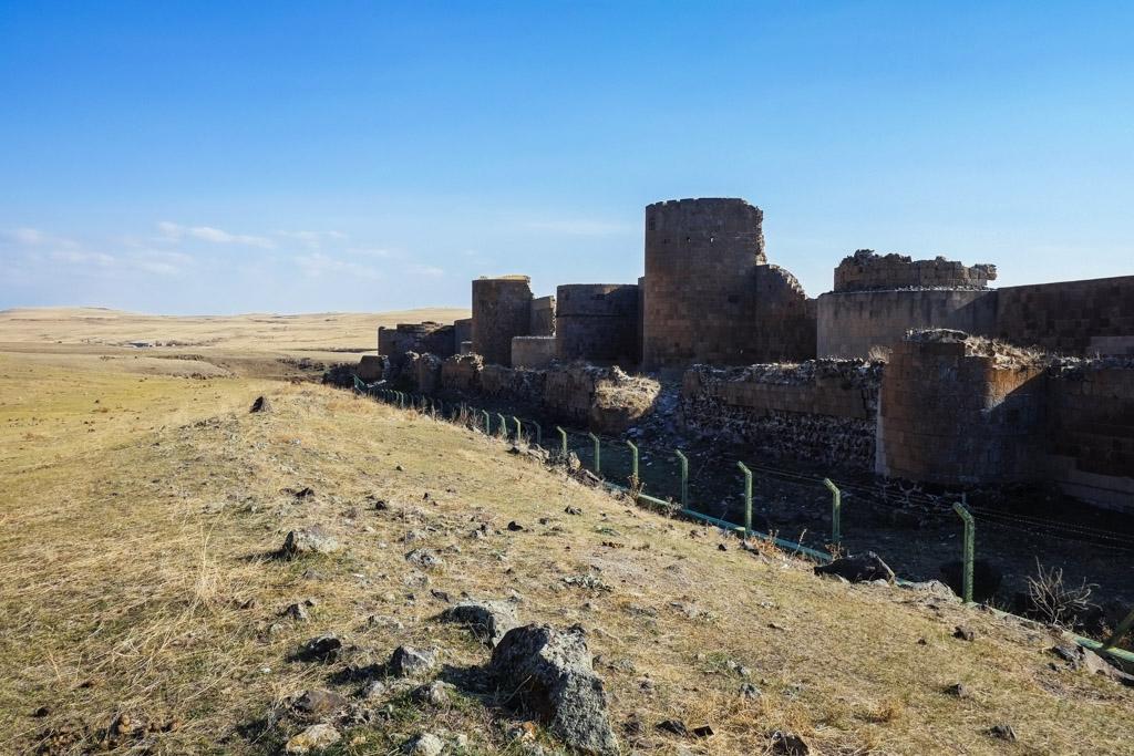 City walls Ani.