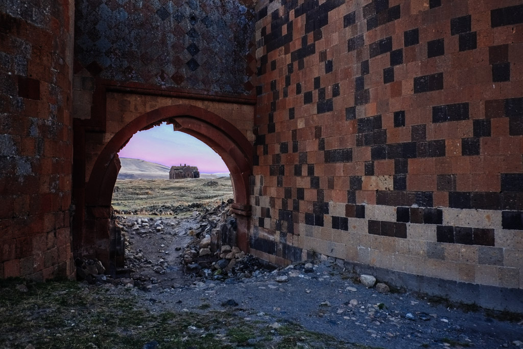 Abandoned city - Ani in Turkey and Armenia
