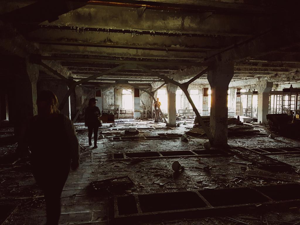 abandoned hospital chernobyl
