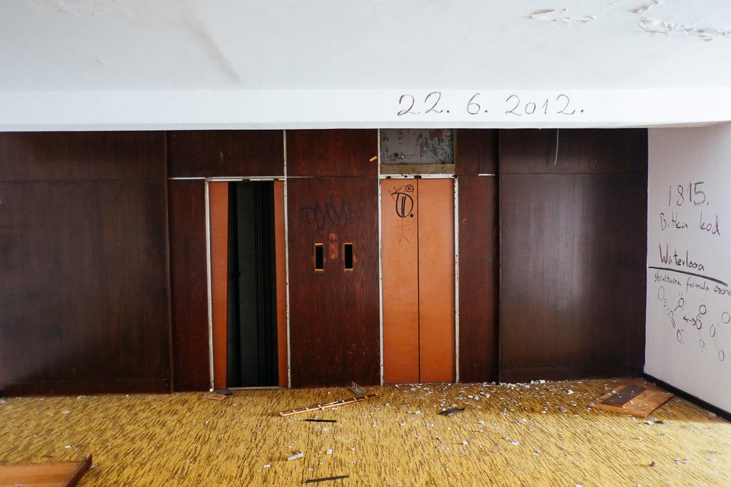 haludovo hotel croatia abandoned krk