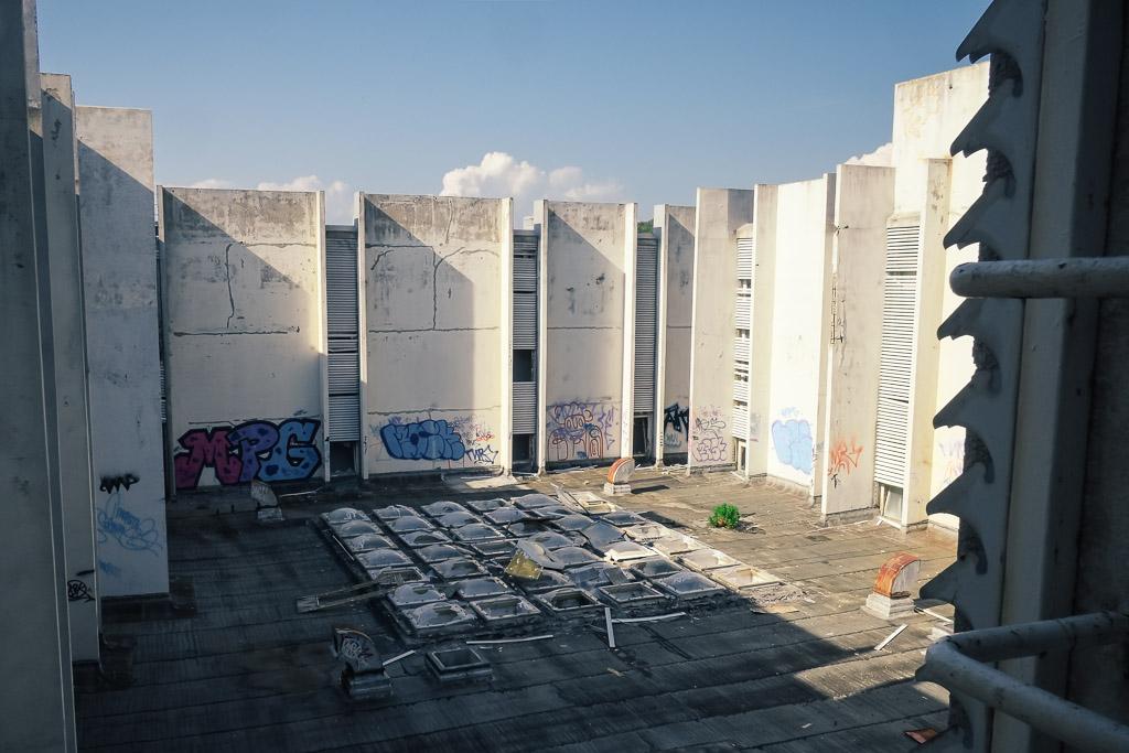abandoned penthouse hotel croatia krk