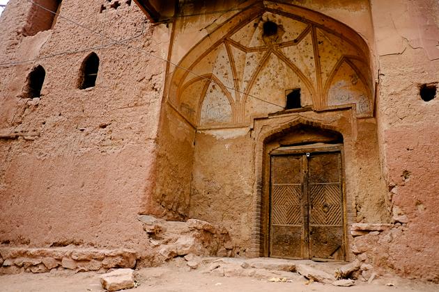 Abyaneh Iran - typical village laneways